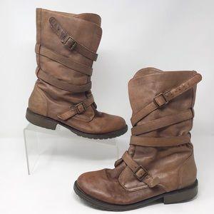 Steve Madden | Ashtin Combat/Moro Boots S2-70-5